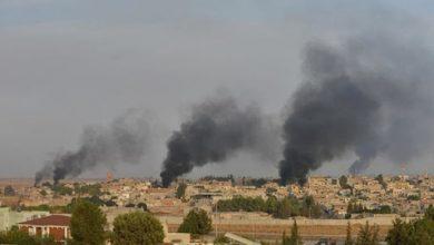 صورة الاحتلال التركي ومرتزقته يعتدون بالمدفعية على محيط «أبو راسين» بريف الحسكة