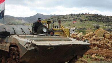 صورة الجيش يرد على خرق «وقف النار» من إرهابيي إدلب والاشتباكات تتجدد في منبج
