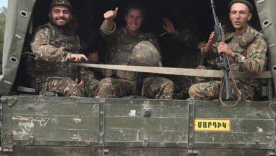 صورة قره باغ تنسحب من بعض خطوط التماس مع أذربيجان.. وإيران: أمننا أولوية