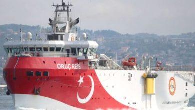 صورة لرفع حدة التوتر في شرق المتوسط.. النظام التركي يمدد فترة التنقيب بمياه متنازع عليها