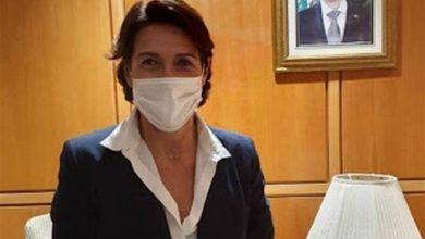 صورة سفيرة فرنسا بلبنان أصيبت بكورونا.. ومديرة الـ«CIA» بالحجر لمخالطتها إبراهيم