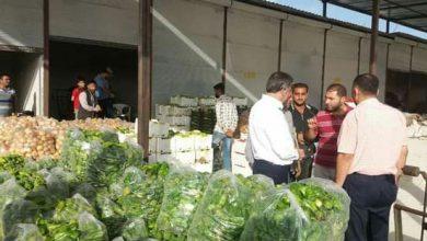 صورة سوق الهال الجديد في حلب يباشر نشاطه.. والمحافظ يوجّه بتأهيل مقر سوق «الحمدانية» القديم