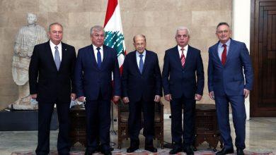صورة عون لمبعوث الرئيس الروسي: نتطلع لحل سريع يحقق عودة النازحين السوريين