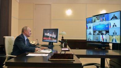 صورة بوتين: نزود الدول الأخرى بلقاح كورونا إذا أنتجوه بمنشآتهم وبدولهم