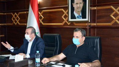 صورة وزير الإدارة المحلية لـ«الوطن»: رؤية قريبة لتشكيل مجلس مدينة جديد للاذقية
