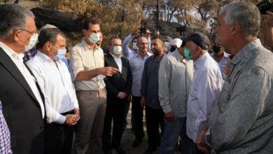 صورة الرئيس الأسد يجول على قرى من ريف اللاذقية: كل المشاكل التي سمعنا عنها لها حل