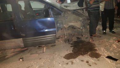 صورة مصادر أهلية لـ«الوطن»: استهداف أحد قياديي «قسد» في حي النشوة فيلات بمدينة الحسكة