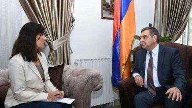صورة سفير أرمينيا لـ«الوطن»: أعمال تركيا تهدد الأمن الإقليمي.. ونعدّ وثائق محاسبتها