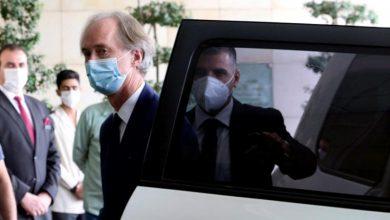 صورة بيدرسون يغادر دمشق ويقدم غداً إحاطة إلى مجلس الأمن