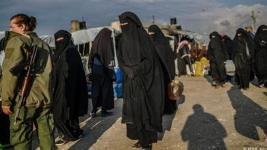 """صورة """"الإدارة الذاتية"""" الكردية الانفصالية تصدر قرارا بإخراج السوريين من """"مخيم الهول"""""""