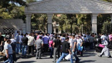 صورة مراكز التسجيل للمفاضلة الجامعية تغلق أبوابها اليوم.. و50 ألف متقدم في دمشق