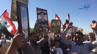 صورة أهالي القامشلي يحيّون ذكرى حرب تشرين: للاستمرار في محاربة الإرهاب وطرد الاحتلال