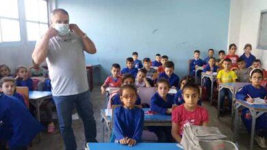 صورة مدارس حلقة أولى وثانية في السقيلبية تعاني من نقص بالمياه والمقاعد