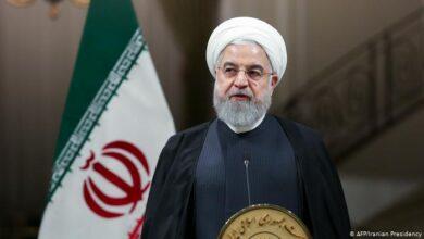 صورة الرئيس الإيراني: نقل الإرهابيين من سورية إلى قرب حدودنا غير مقبول