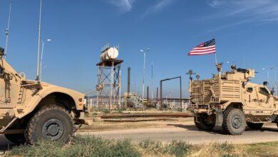 صورة لليوم الثاني.. دورية للاحتلال الأميركي في محيط الحقول النفطية في رميلان