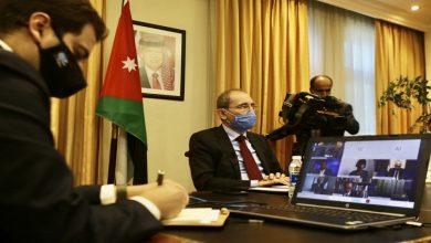صورة الأردن: ضرورة تكثيف الجهود للتوصل لحل سياسي في سورية يحفظ وحدتها وتماسكها