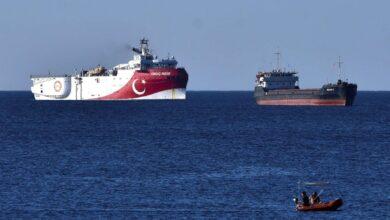 صورة اليونان: إعادة تركيا سفينة تنقيب إلى شرق المتوسط يهدد السلام الإقليمي
