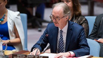 صورة بيدرسون: لا يمكن حل الصراع في سورية عن طريق إصلاح دستوري أو دستور جديد فقط