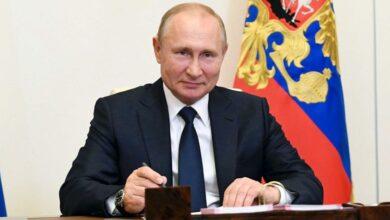 صورة بوتين: آمل في تسجيل لقاح ثان ضد «كورونا» منتصف الشهر الجاري