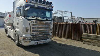 صورة تموين اللاذقية تضبط صهريج يحمل ٢٤ ألف لتر مازوت قبل وصوله للسوق السوداء