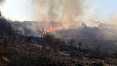 صورة إطفاء حمص تطوق حريق الناصرة.. واندلاع حريقين آخرين بريف حمص الغربي