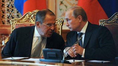 صورة بيسكوف: الرئيس بوتين لم يخالط لافروف