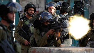 صورة استشهاد فلسطيني برصاص « إسرائيلي» في القدس المحتلة