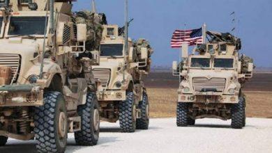 صورة الاحتلال الأميركي يخرج رتل آليات من ريف الحسكة إلى العراق
