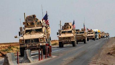 صورة الاحتلال الأميركي يُدخل رتلاً من الآليات إلى مدينة الرميلان بريف الحسكة