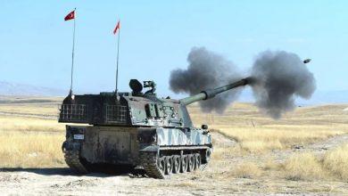 صورة الاحتلال التركي يواصل قصف مواقع ميليشيات «قسد» بريف تل أبيض