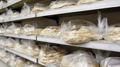 صورة رسائل توعوية صحية ضمن ربطات الخبز