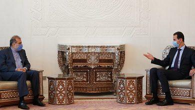 صورة الرئيس الأسد لخاجي: مؤتمر اللاجئين خطوة جوهرية في مسار الحكومة لإنهاء هذا الملف