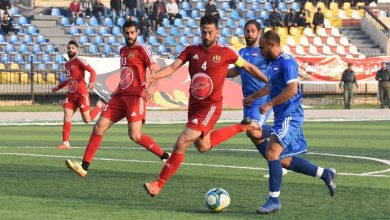 صورة إياد عبد الكريم ثاني ضحايا الدوري الكروي الممتاز