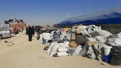صورة ميليشيات «قسد» تفرج عن 120 عائلة سورية محتجزة في «مخيم الهول»
