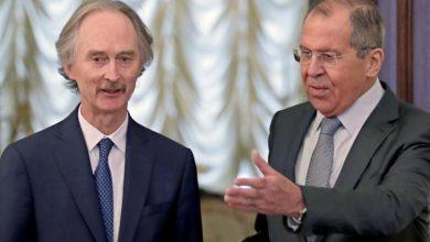 صورة الخارجية الروسية: لافروف وبيدرسون يبحثان غداً الوضع في سورية