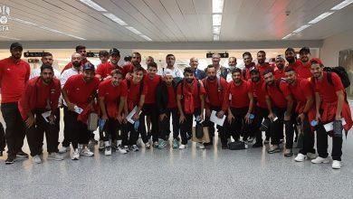 """صورة """"نسور قاسيون"""" يحلّقون إلى الإمارات للقاء أوزباكستان والأردن"""