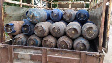 صورة تموين حماة يضبط عشرات اسطوانات الغاز المعدة للإتجار غير الشرعي