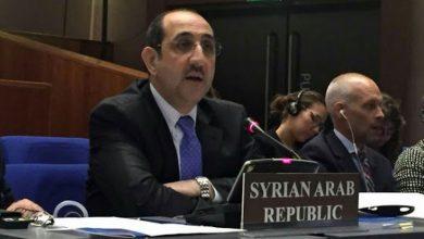 صورة صباغ: سورية أوفت بجميع التزاماتها بخصوص اتفاقية حظر الأسلحة الكيميائية