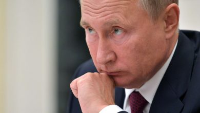 صورة بوتين يبحث تطبيق اتفاق «قره باغ» مع علييف وباشينيان