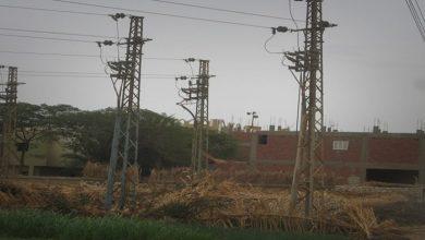 صورة سرقة 135 متر من شبكة كهرباء سلحب