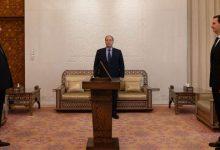 صورة أمام الرئيس الأسد.. ديوب يؤدي اليمين القانونية سفيراً لسورية لدى إيران