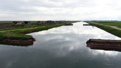 """صورة وزير الموارد المائية لـ""""الوطن"""": إنجاز مشروع شبكة ري حمص – حماة قبل نهاية العام"""