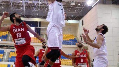صورة منتخبنا بكرة السلة يسجل انتصاراً تاريخياً على إيران