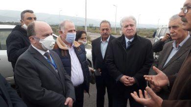 """صورة وزير التعليم العالي من حمص لـ""""الوطن"""": الإقلاع بمشفى جامعة البعث خلال 7 أشهر"""