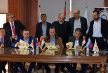 صورة اتفاق على بدء تصدير حمضيات وخضار إلى الجنوب الروسي وإقامة منشأة للفرز والتوضيب بطرطوس
