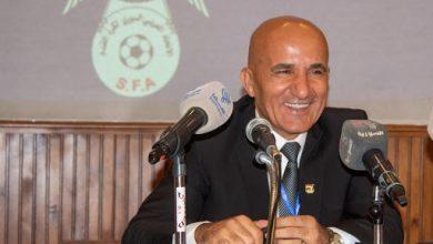 صورة مؤتمر صحفي مرتقب لرئيس اتحاد كرة القدم