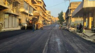 صورة حلب تؤهّل طرقات «القاطرجي» شرق المدينة وصرف «الجميلية» الصحي في وسطها التجاري