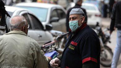 صورة إصابات كورونا المسجلة في سورية تتجاوز الـ 8 آلاف حالة