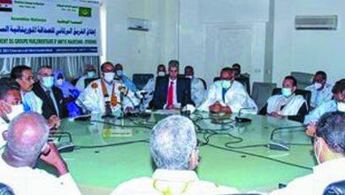 صورة لجنة برلمانية للصداقة السورية الموريتانية لتعزيز التعاون بين البلدين