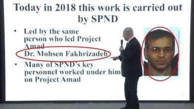 صورة نتنياهو يرد للمرة الأولى على احتمال علاقته باغتيال العالم الإيراني محسن زاده